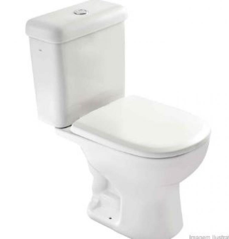 Bacia Sanitária para Caixa Acoplada Alto da Providencia - Bacia Sanitária Que Não Entope