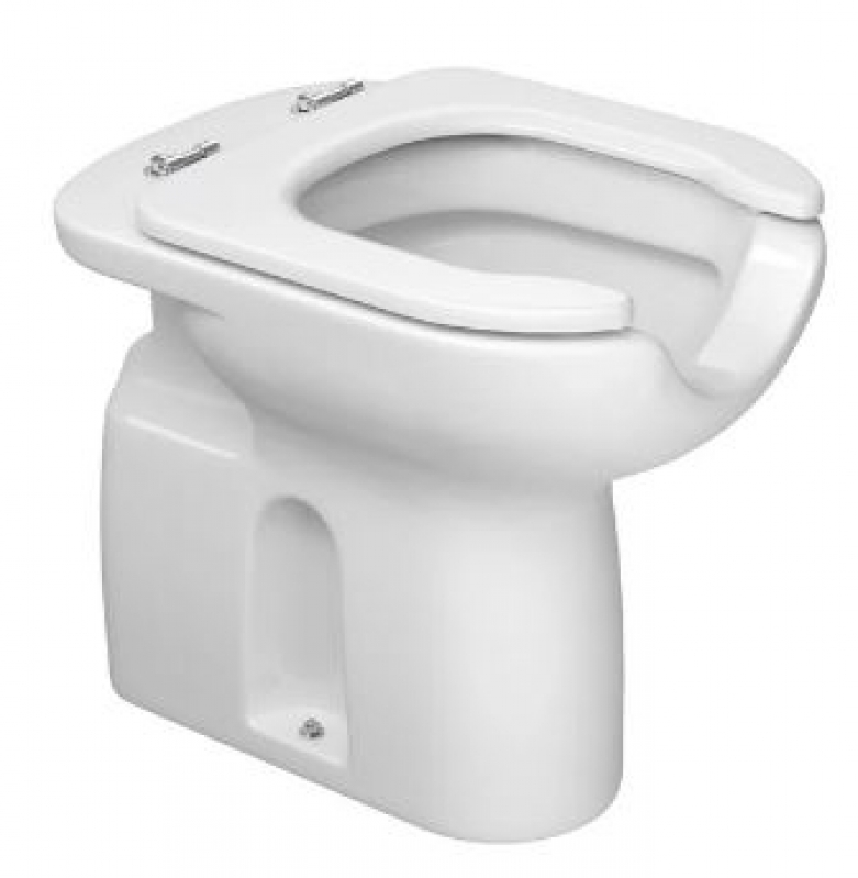 Bacia Sanitária para Deficiente Embu das Artes - Bacia Sanitária Branca