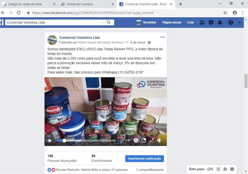 Empresa de Venda de Tintas Online Itapevi - Venda de Tintas Online