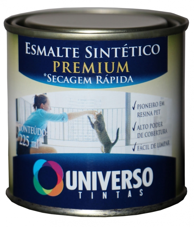 Esmalte Sintético Branco Vila Romana - Esmalte Sintético Branco