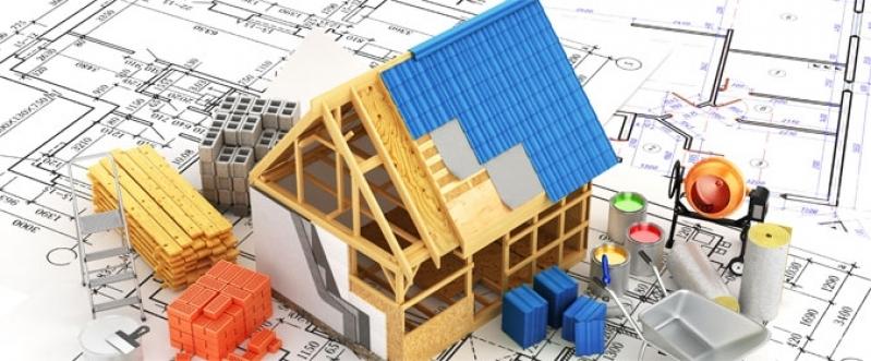 Orçamento para Material de Construção de Casas Modernas Alphaville - Material de Construção Cimento