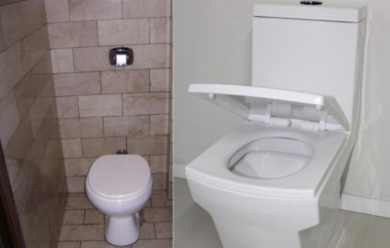Procuro por Bacia Sanitária com Válvula Cotia - Bacia Sanitária Banheiro