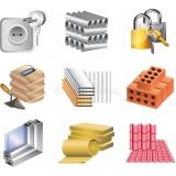 orçamento para material de construção de edifícios Rio Pequeno