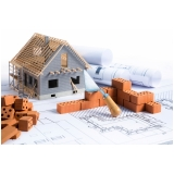 orçamento para material de construção de moradias Vila Romana